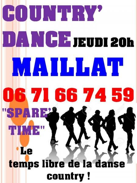 Country dance affiche